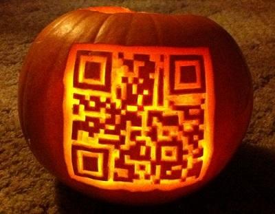 source: http://2d-code.co.uk/halloween-qr-code-pumpkin/