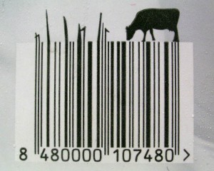 grazingcow barcode style