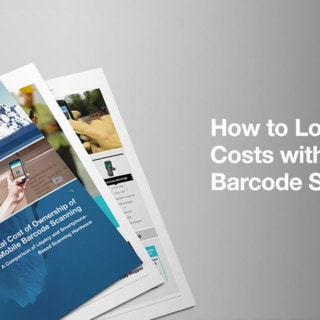 how to lower IT costs with mobile barcode scanning