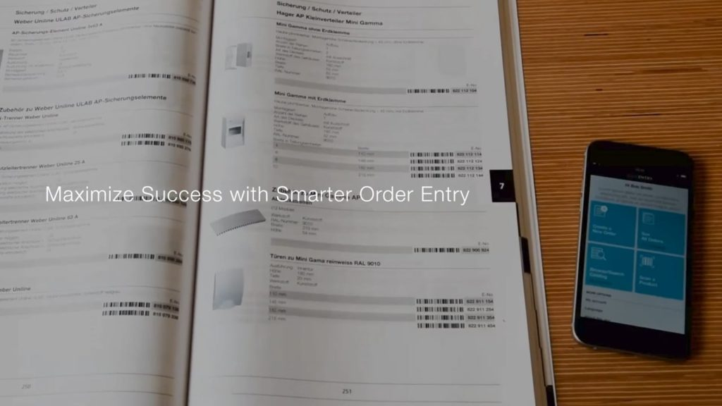Smart Reordering with Mobile Order Entry