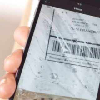 phone scanning barcode