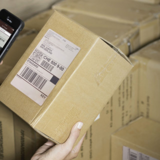 scanning box with smartphone