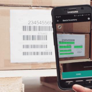 scanning barcodes