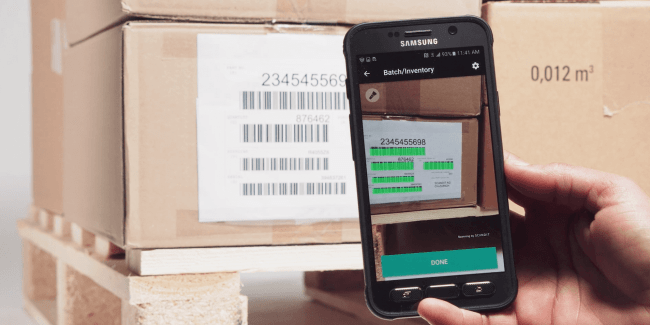 Android Barcode Scanner SDK by Scandit