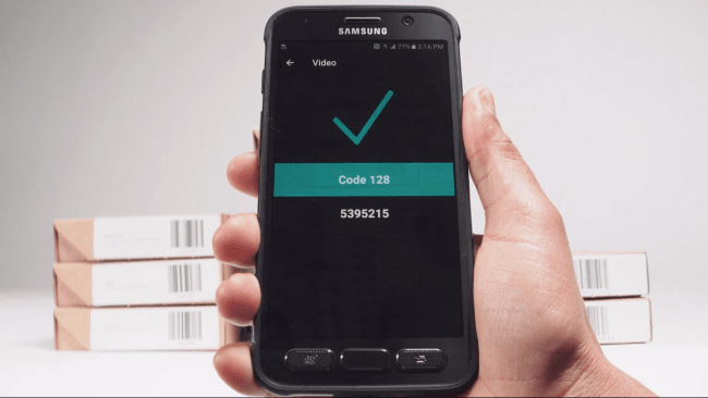 Samsung Scanning Performance Video