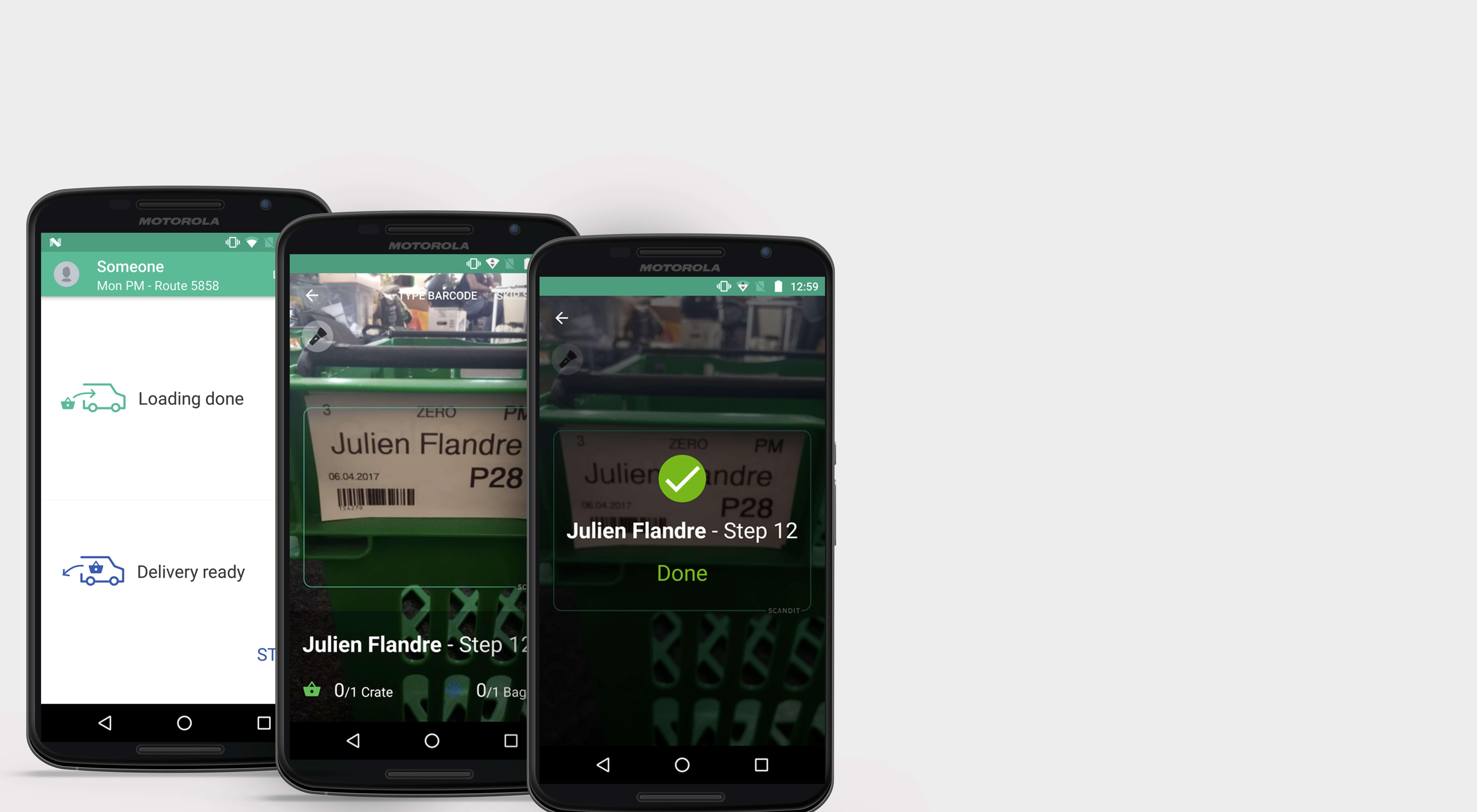 farmdrop app screens final