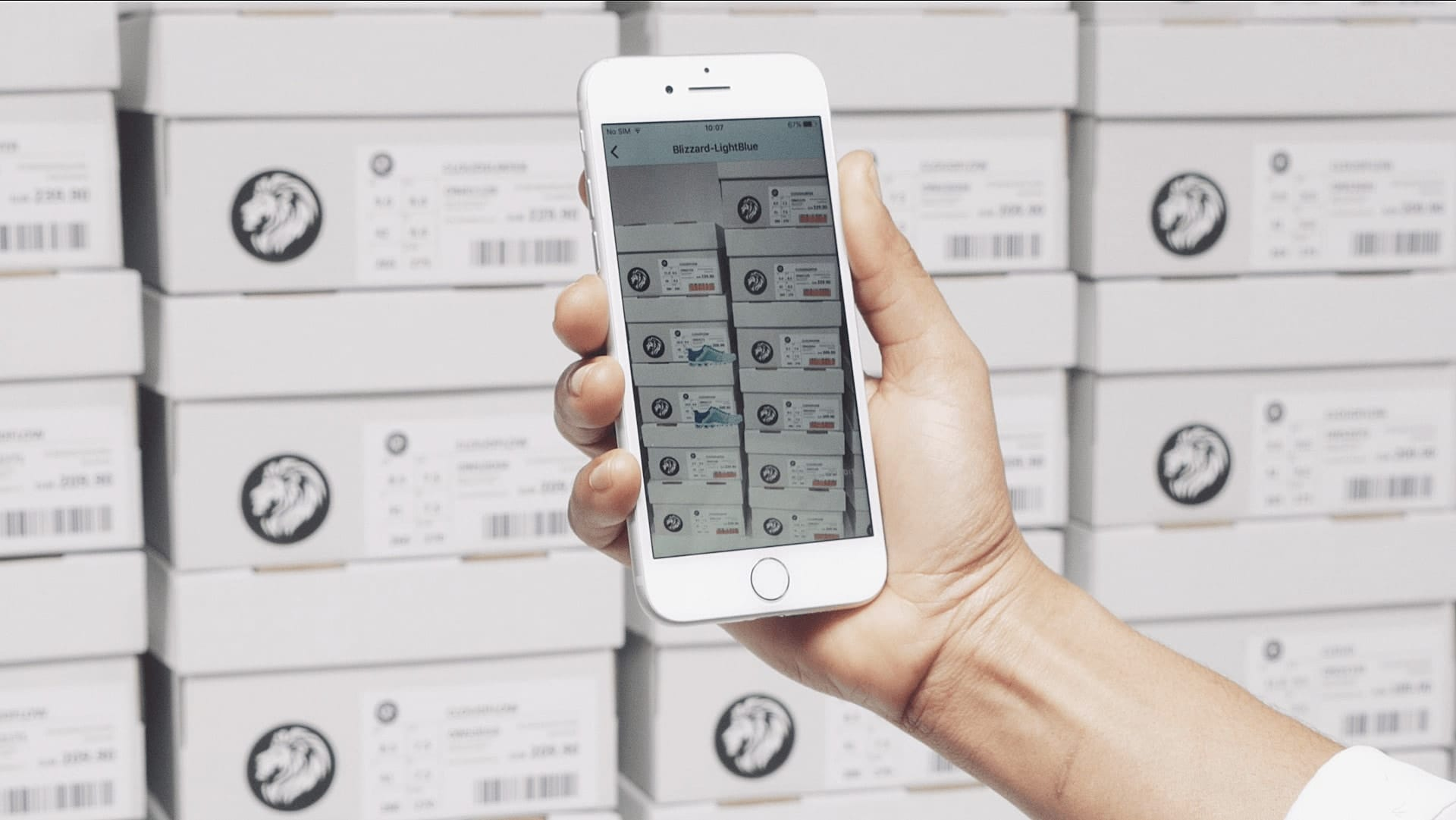 scanning barcodes with iphone