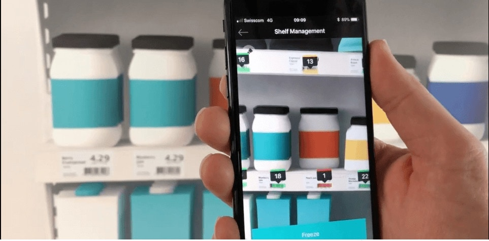 Retail Shelf Management with a Smartphone