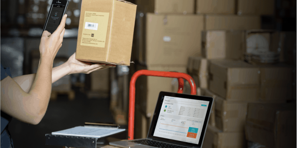 scanning boxes with smartphone