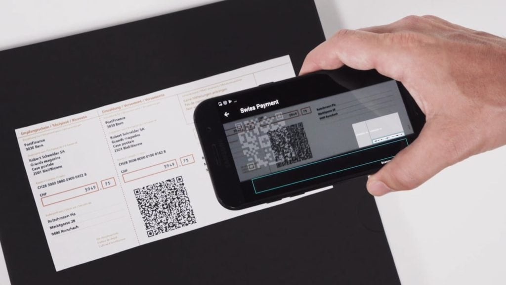 Swiss QR Code Payment for Banking Industry