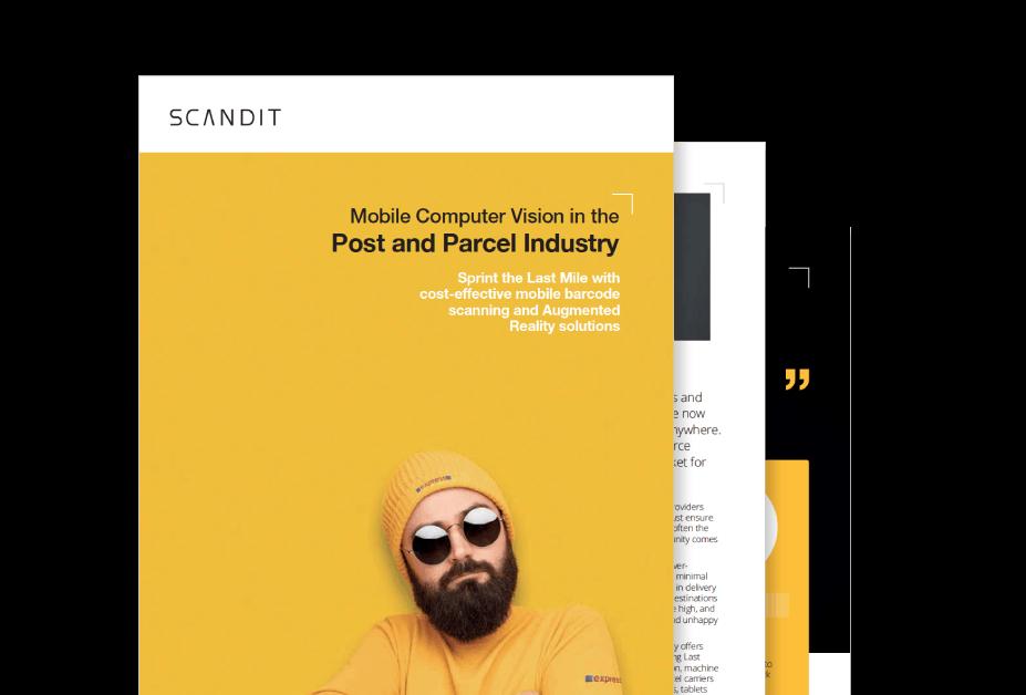 Post and Parcel APP using Scandit Barcode Scanning SDK