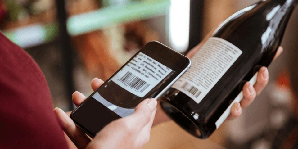 scanning barcode