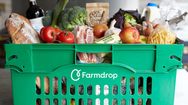 farmdrop cart full of products