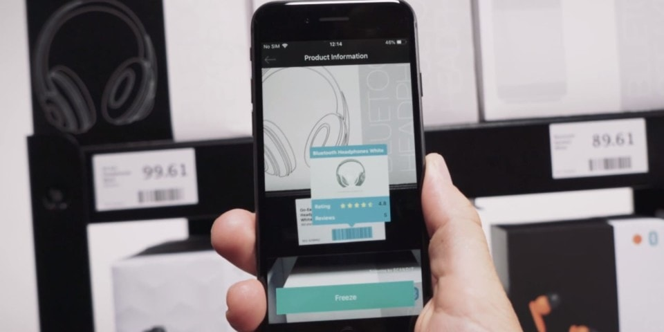 augmented product information using smartphone