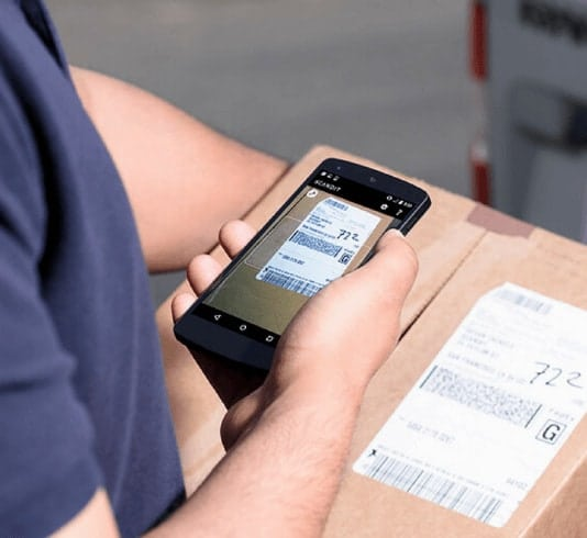 scanning barcode with smartphone