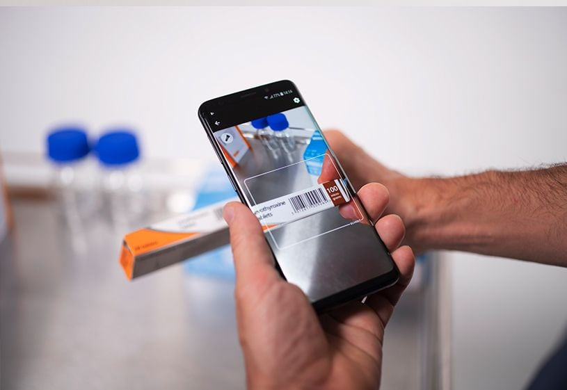 scan medication with smartphone
