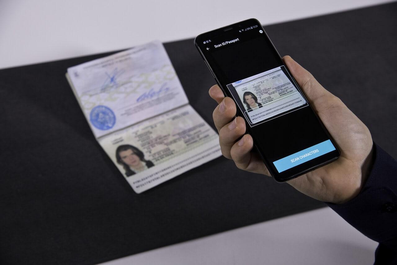 passport scanning