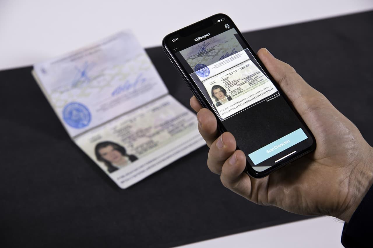 Scandit Passport scanning