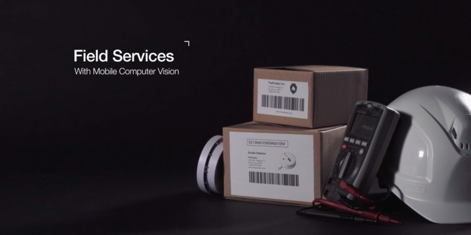 field services with mobile computer vision
