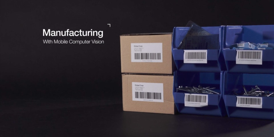 manufacturing with mobile computer vision