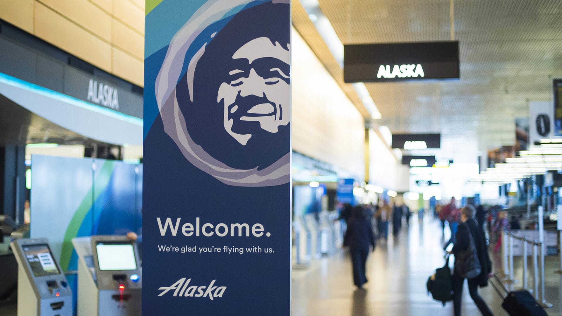 Alaska Airlines using Scandit technology