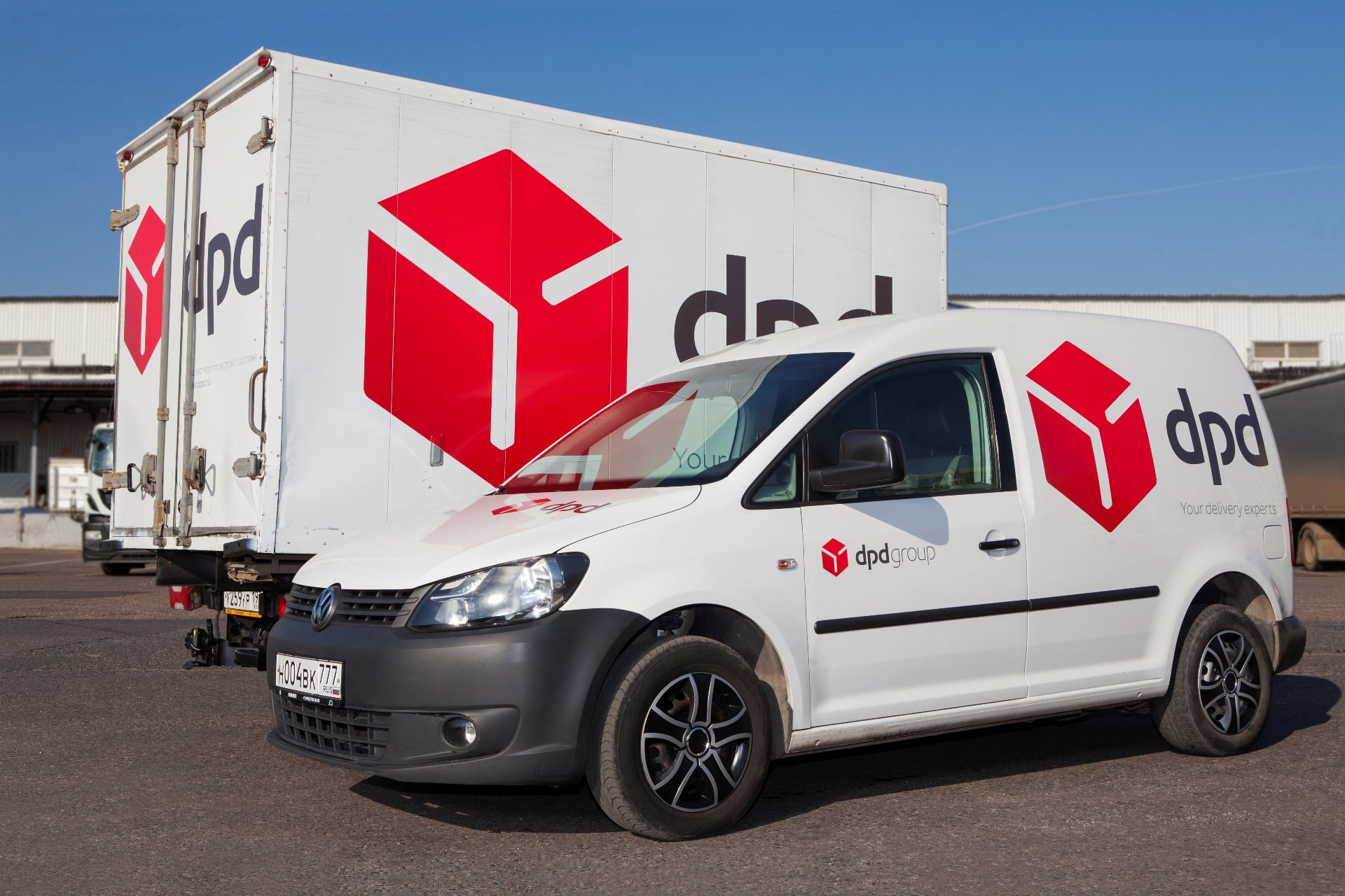 dpd delivery cars