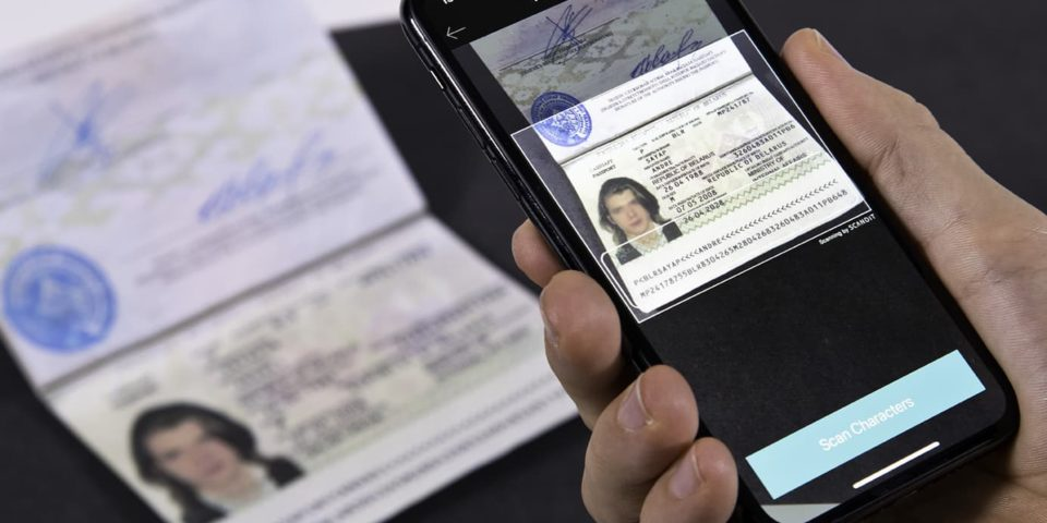 Scan passports instantly with Scandit technology