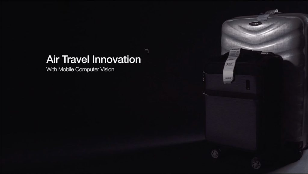 Air Travel Innovation with Mobile Computer Vision