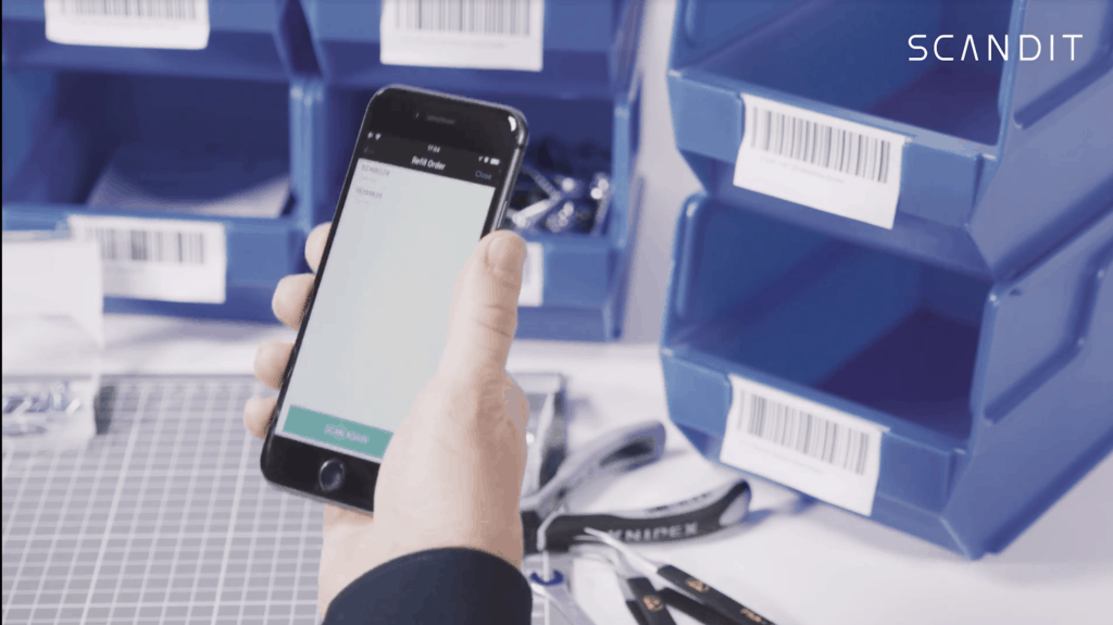 Scandit Field Services Mobile Inventory Tracking with a Samsung Device
