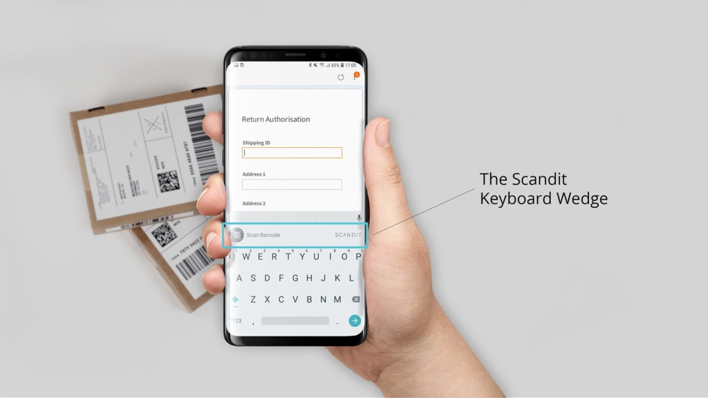 Keyboard Wedge | Products | Scandit