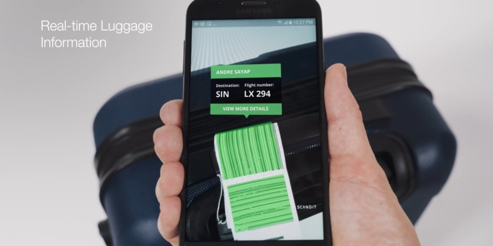real-time baggage tracking with Augmented Reality