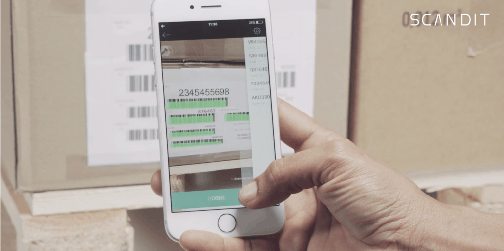 Scandit Manufacturing IOS Receiving Use Case