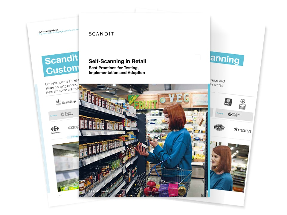 Self-Scanning in Retail with Scandit