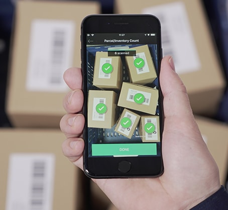inventory count using smartphone