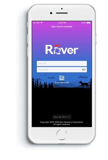 Epic Rover and Scandit on iOS