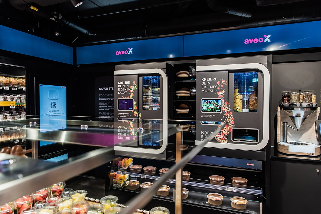 avecBox retail store using Scandit technology