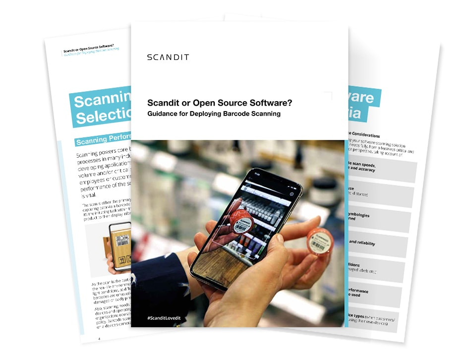 Scandit Barcode Solutions or Open Source Software?