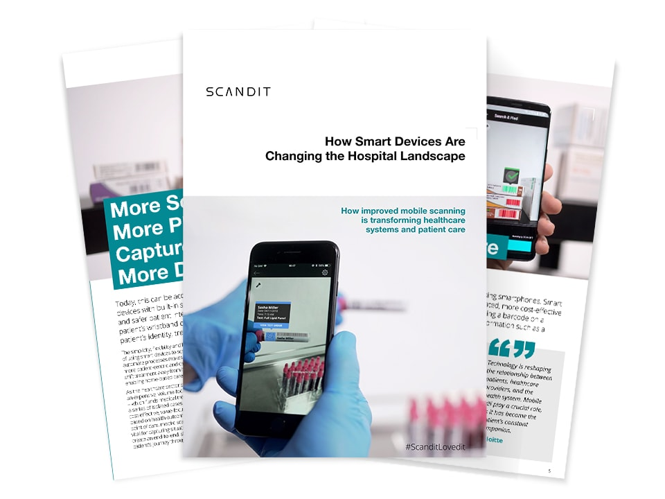 eBook: How Smart Devices Are Changing the Hospital Landscape cover