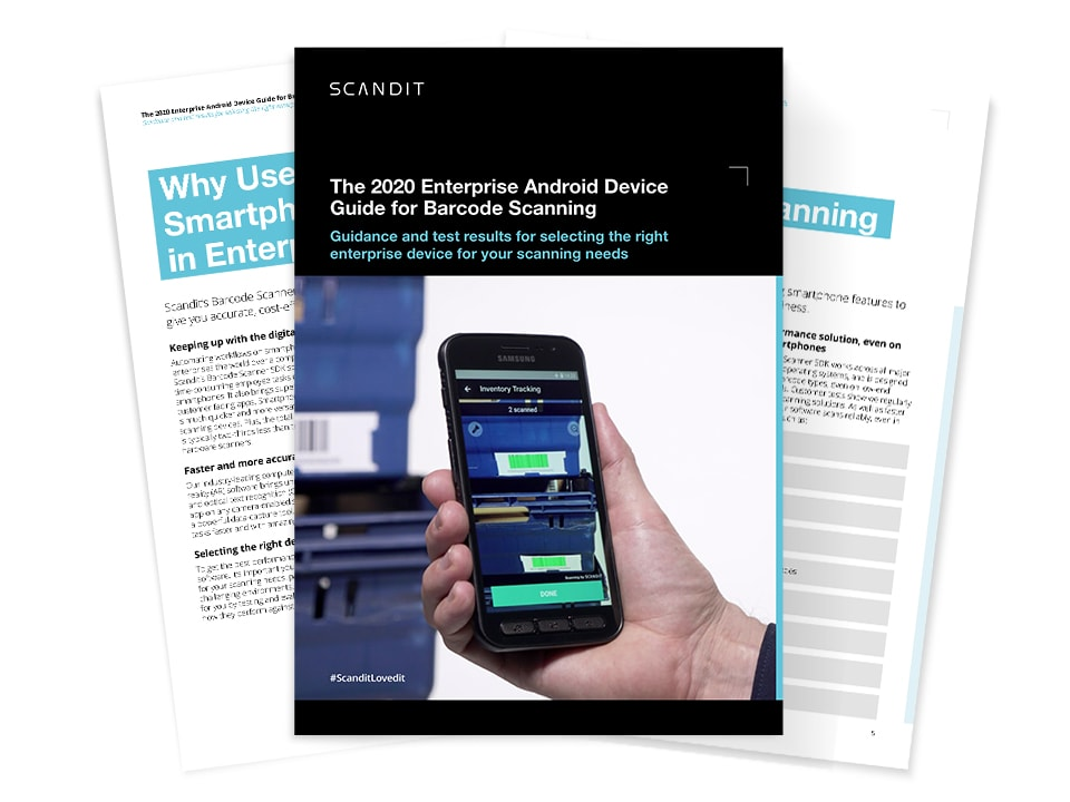 Barcode Scanning Android 2020 guide