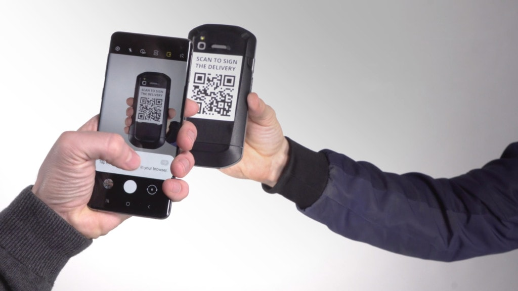 Contactless Proof of Delivery Web App