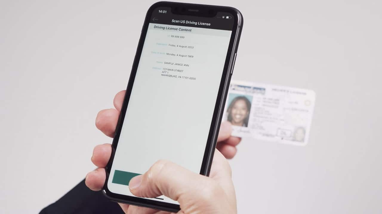 ID Documents without Machine-Readable Data