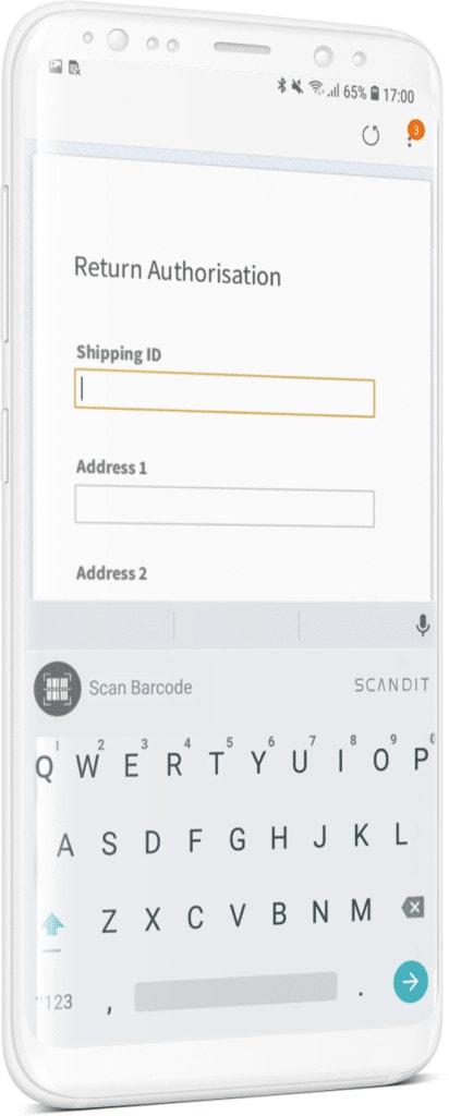 Keyboard Wedge demo app