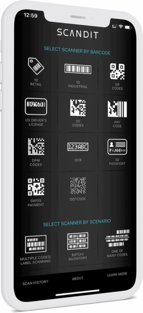 Barcode Scanner demo app