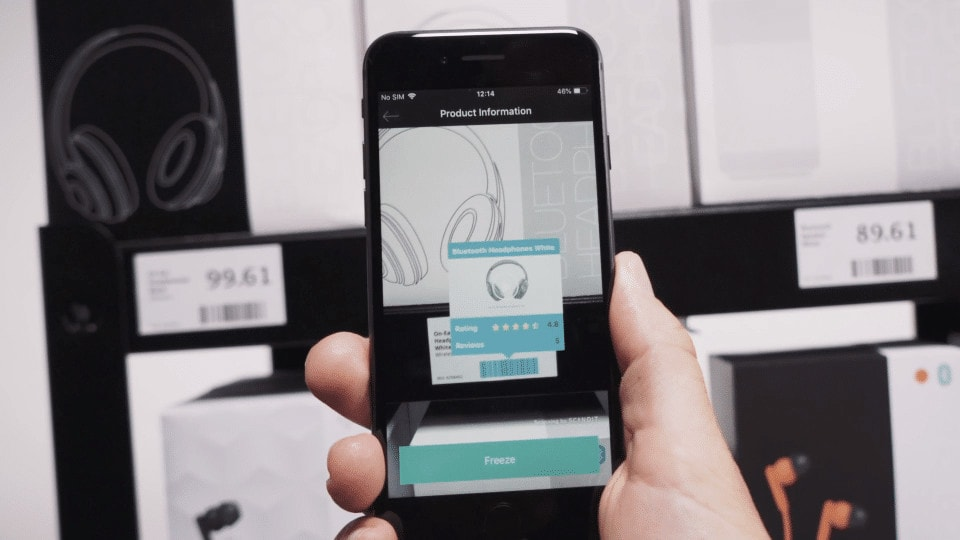Augmented Retail Product Information