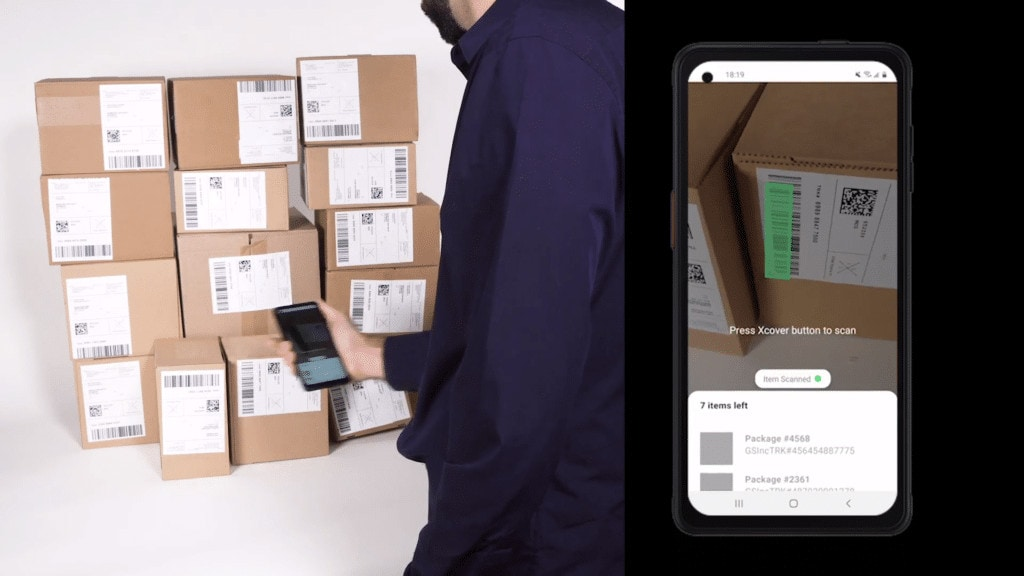 Loading Parcels with Button Press