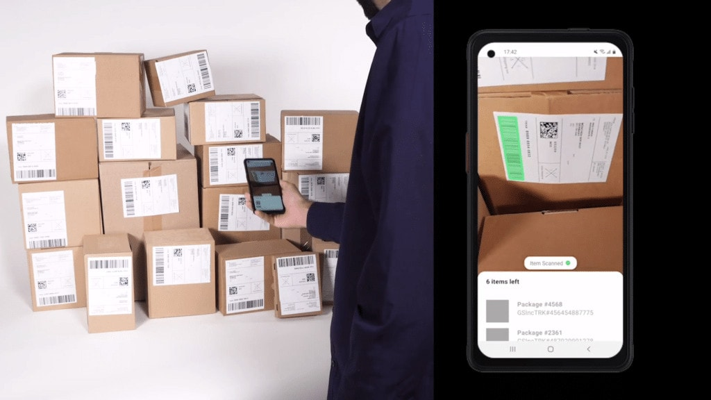 Loading Parcels with Continuous Scanning