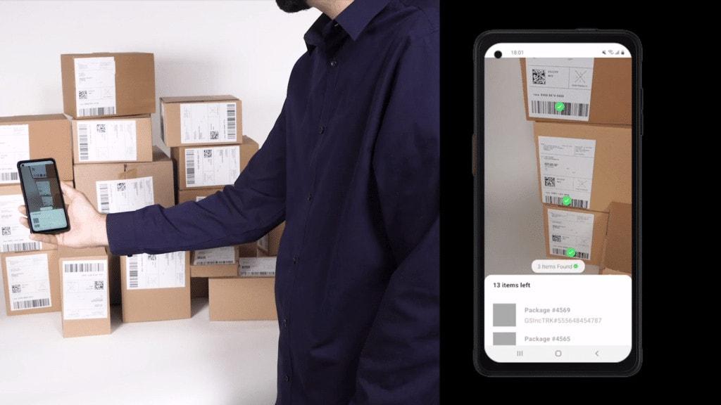 Loading Parcels with MatrixScan Parcels