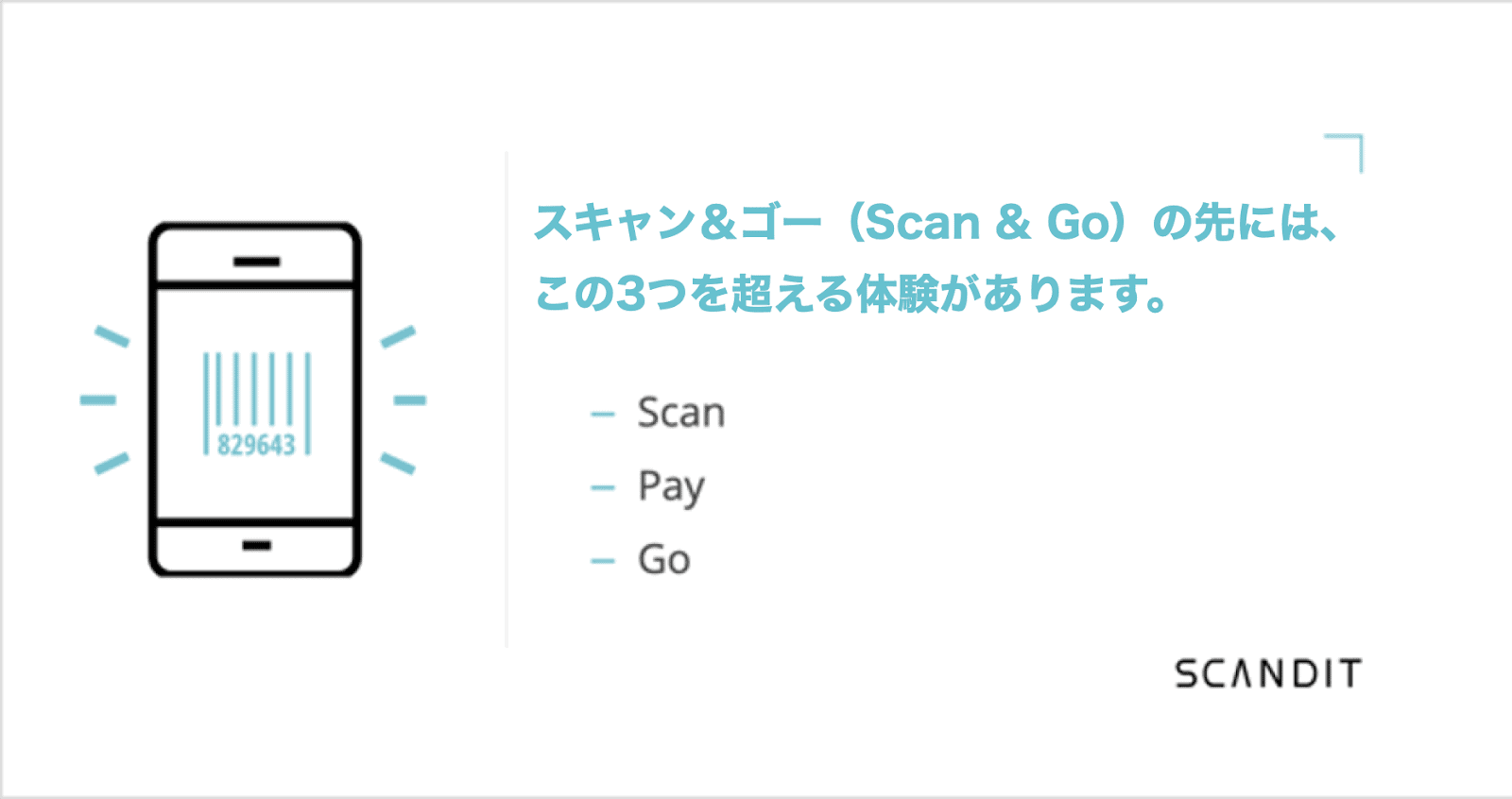 There's more to a Scan and Go app