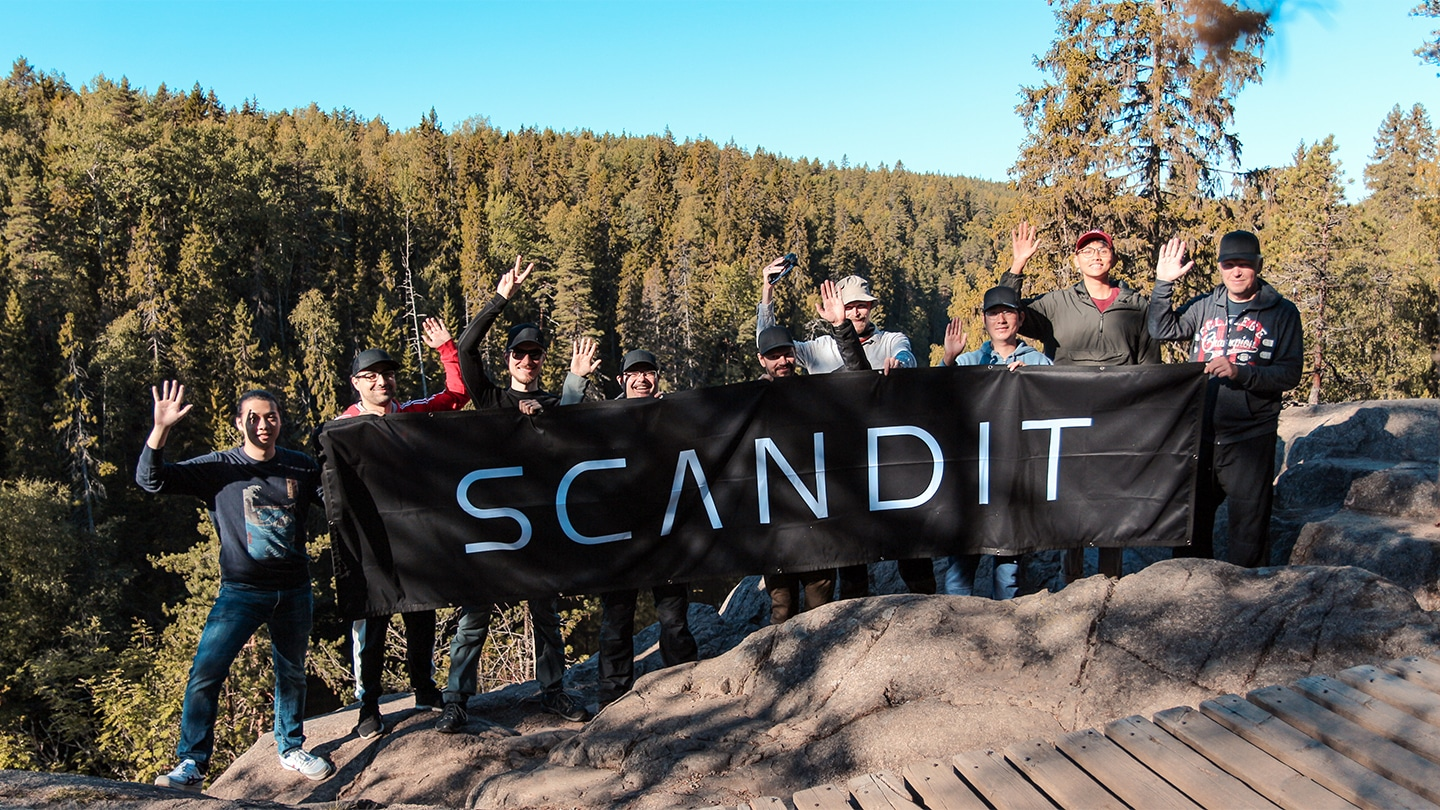 Scandit rallying together