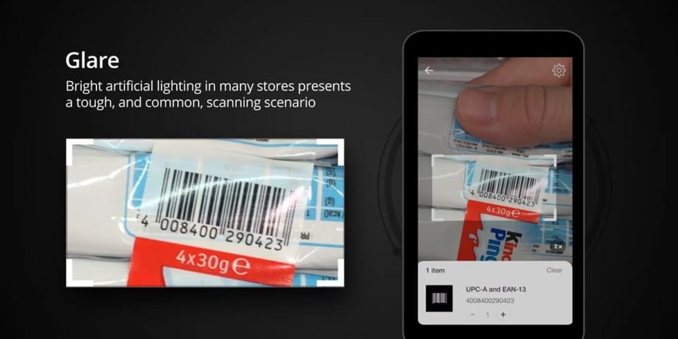 Tough Barcodes self scanning